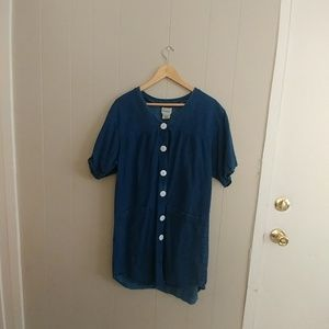 Vintage Denim Shirt or Dress